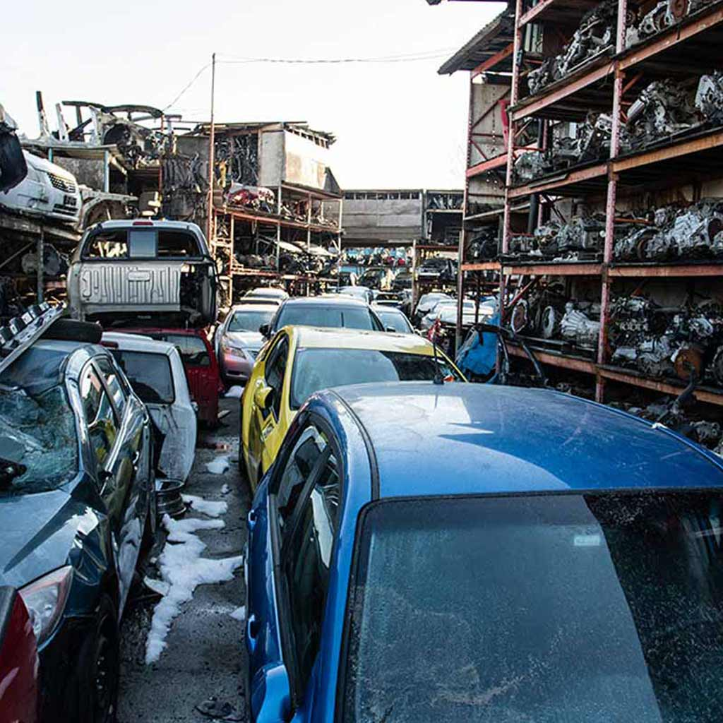 Auto Dismantlers & Salvage Yards